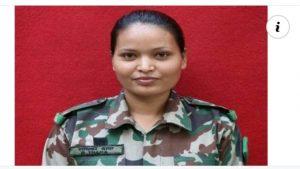 मेलम्चीकी थापा सेनामा प्रतिविद्राेह तथा जंगल युद्धकलाकाे तालिम गर्ने पहिलाे महिला