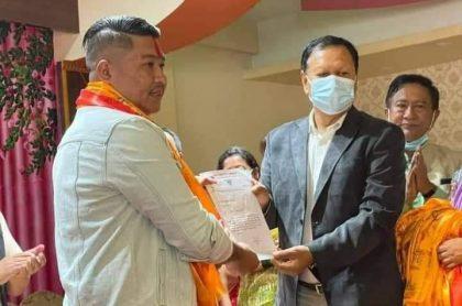 युबा संघ नेपालका केन्द्रीय सदस्य सुरेन कांग्रेस प्रवेश