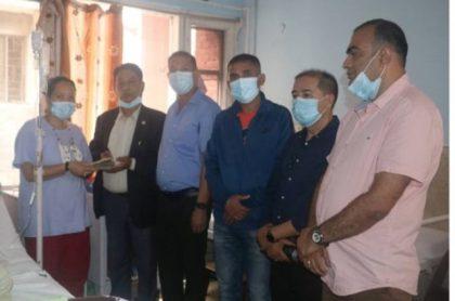मृगौलापीडित श्रेष्ठलाई उद्योग बाणिज्य र हिमालय सीमापारको सहयोग